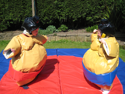Children's Sumo Suit Package