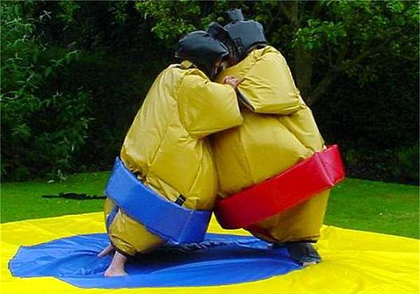 Adult/Teenager Sumo Suit Package